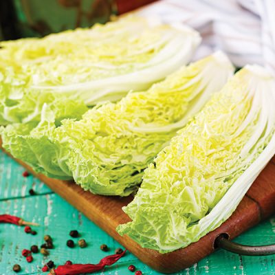 Martin Riendeau Gardens | Fresh nappa cabbage